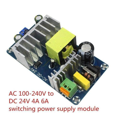 Image of Planet Gates Smart Electronics AC 100-240V to DC 24V 4A 6A Switching Power Supply Module AC-DC