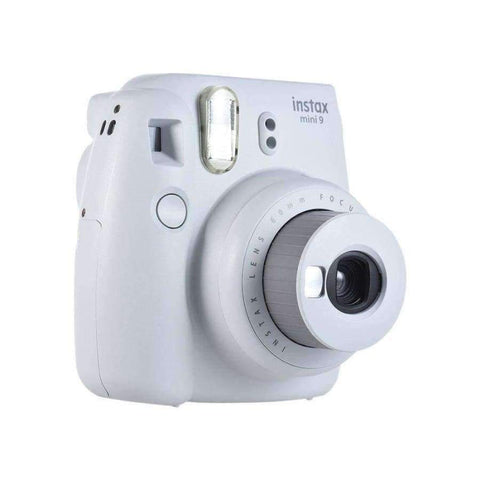Planet Gates Smoky White Genuine Fuji Fujifilm Instax Mini 9 Instant Printing Camera Compact  Regular Film Snapshot Camera Shooting Photos