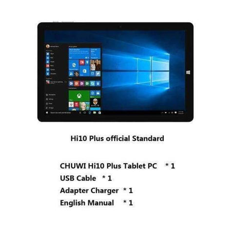 Planet Gates Standard / Hi10 Plus / Russian Federation CHUWI Hi10 Plus 10.8 Inch Tablet PC Windows 10 Android 5.1 Intel Atom Z8350 Quad Core 4GB RAM 64GB ROM Dual Camera Tablets