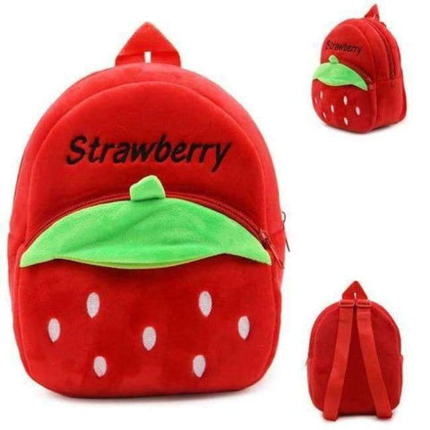 Planet Gates Strawberry1 Factory Outlet Kids Animal Backpacks Baby Girls Boys Cute Schoolbag Children Cartoon Bookbag Kindergarten Toys Gifts School Bags