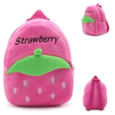 Planet Gates Strawberry2 Factory Outlet Kids Animal Backpacks Baby Girls Boys Cute Schoolbag Children Cartoon Bookbag Kindergarten Toys Gifts School Bags