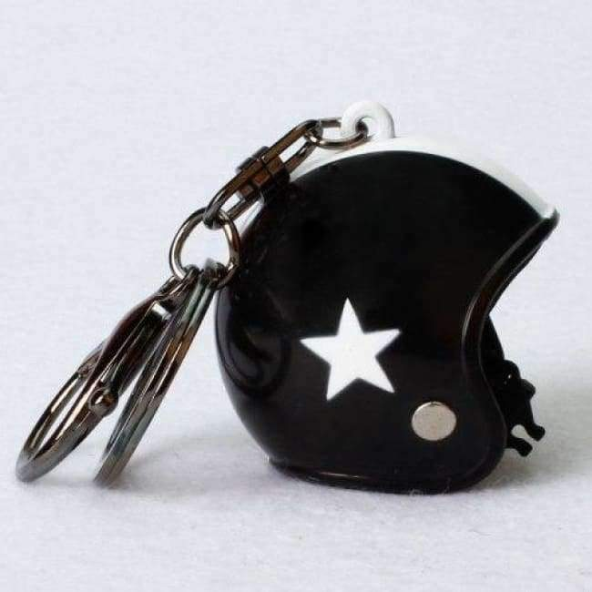 Planet Gates Style 3 POSSBAY Motorcycle Helmet Keychains Cute Fashion Helmet Keychain Automobile Interior Decoration Ornament Accessories