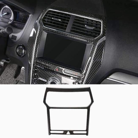 Image of Planet Gates Style11-2016-2017 JHO Carbon Fiber Trim Interior Covers Cup Holder Panel Window Door Handle Stickers For Ford Explorer 2013-2017 Car Accessories