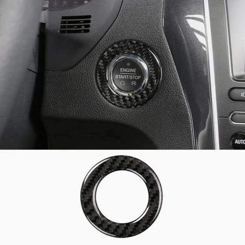 Image of Planet Gates Style12-2016-2017 JHO Carbon Fiber Trim Interior Covers Cup Holder Panel Window Door Handle Stickers For Ford Explorer 2013-2017 Car Accessories