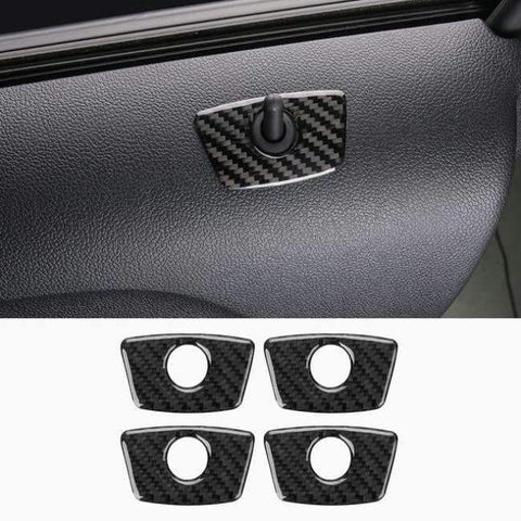 Image of Planet Gates Style2-2013-17 JHO Carbon Fiber Trim Interior Covers Cup Holder Panel Window Door Handle Stickers For Ford Explorer 2013-2017 Car Accessories