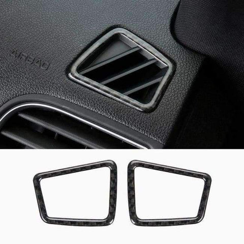 Image of Planet Gates Style3-2013-17 JHO Carbon Fiber Trim Interior Covers Cup Holder Panel Window Door Handle Stickers For Ford Explorer 2013-2017 Car Accessories