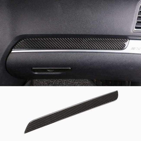 Image of Planet Gates Style5-2013-17 JHO Carbon Fiber Trim Interior Covers Cup Holder Panel Window Door Handle Stickers For Ford Explorer 2013-2017 Car Accessories