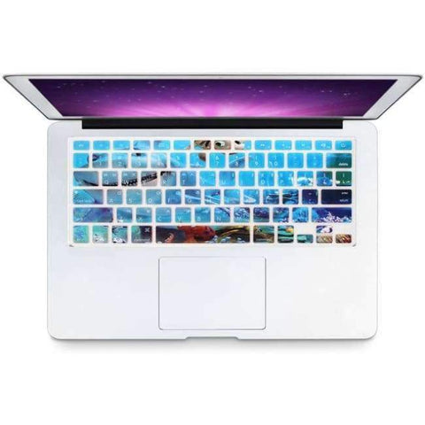 Planet Gates Submarine Corps HRH Stylish Korean Language USA Silicone Keyboard Cover Protector Skin for Macbook Air 13 Pro Retina 13 15 17 Laptop Accessory