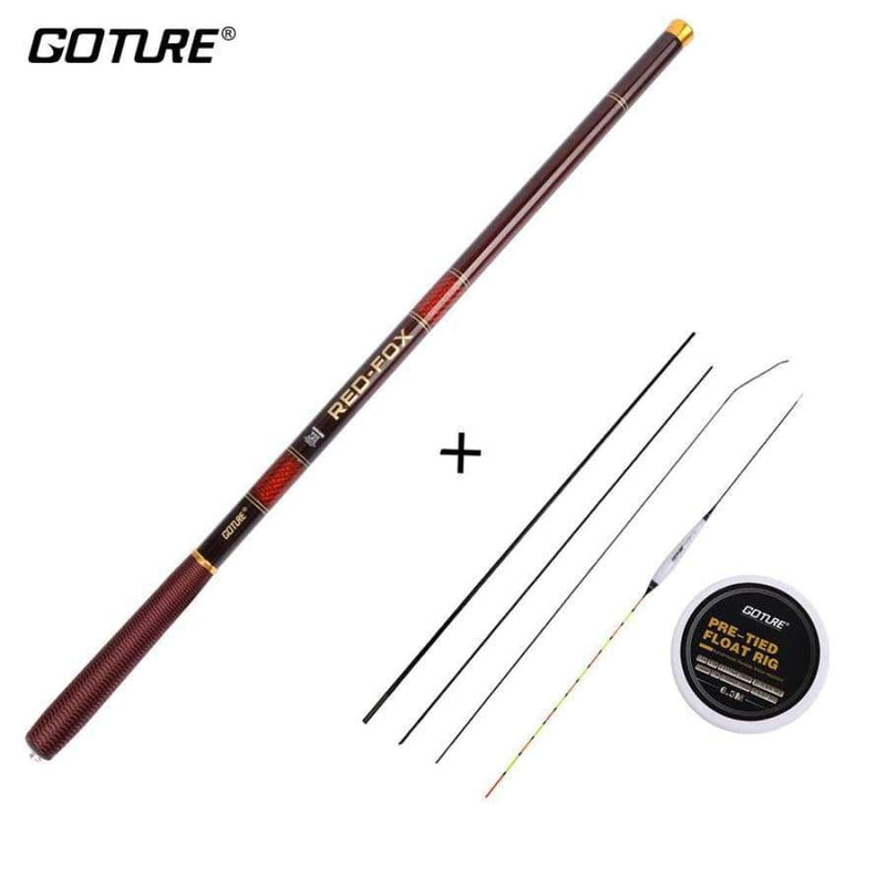 Telescopic Fishing Rods 3.0M 7.2M Carbon Fiber 28 37 Power