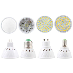 بلانيت جيتس غطاء شفاف 3W / MR16 220V / نعم ، لمبة LED بيضاء دافئة الأضواء MR16 GU10 Light E27 E14 بقعة مصباح 2835 SMD Lampada GU5.3 220V 110V 12W