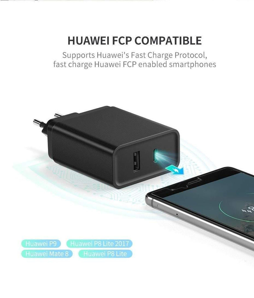 finest selection c3590 50819 Ugreen 18W Type C PD Fast USB Charger for iPhone X 8 XS XR PD Quick Charger  5V 2.4A Phone Charger for Samsung Xiaomi Charger