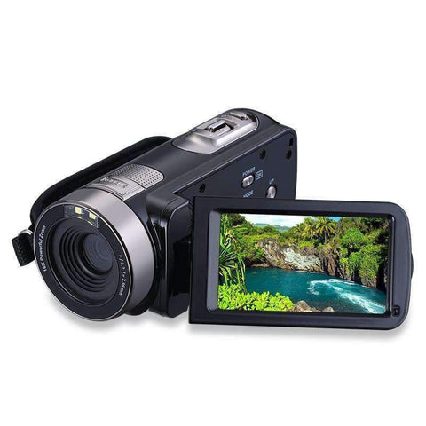 "Planet Gates US plug HD Digital Camera Professional 16X Zoom  Digital Video Camera Camcorder Photo DSLR Camera DV 3.0"" LCD Touch Screen with Remote"