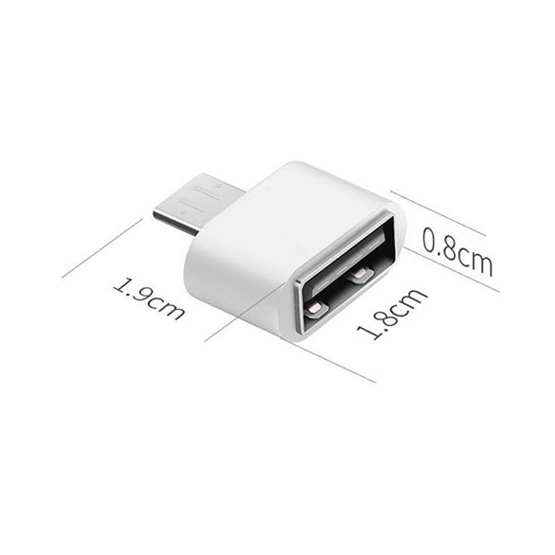 USB 3 0 Type-C OTG Cable Adapter Type C USB-C OTG Converter for Xiaomi Mi5  Mi6 Huawei Samsung S8 Mate9 Phone USB DIsk Flash