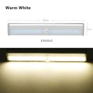 LED Wireless Motion Sensor Light USB Closet Stairs Night Light for Wardrobe Cupboard Drawer Trunk Hallway Kitchen Baby Nursing