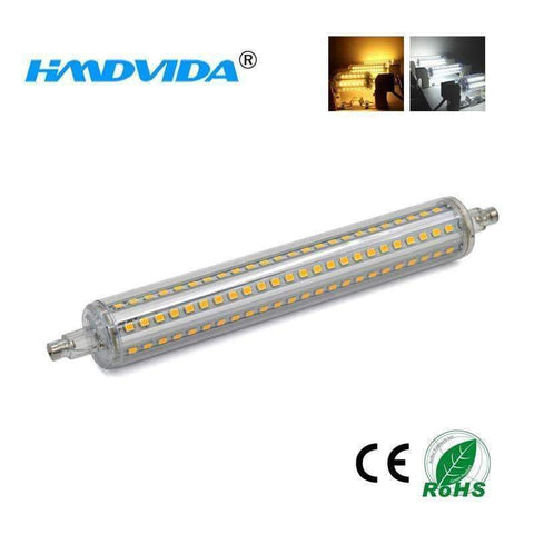 Image of Planet Gates Warm White / 5w 36LEDs / No, 85V-265V HMDVIDA LED R7S 220V Lamp 36 72 90 144LEDs 110V Regulator Bulb  Replace Halogen Outdoor Light