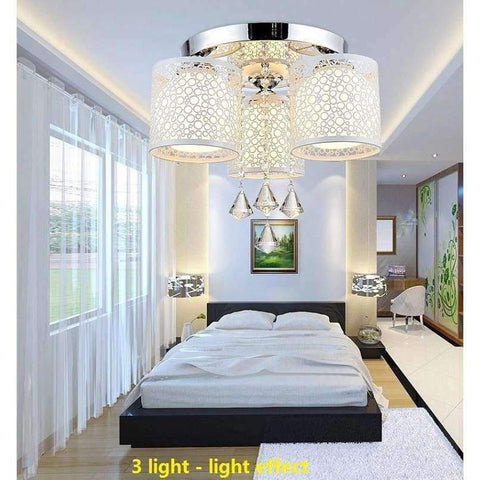 Image of Planet Gates White / 1 Lights New hot crystal lamps, the living room / bedroom / restaurant / Home Furnishing / commercial lighting free shipping