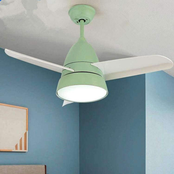 Modern Kids Ceiling Fan Light Simple Children Bedroom Ceiling Fan With Led Light And Remote Control Planet Gates