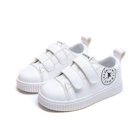 Image of Planet Gates White / 6.5 Spring/Autumn hot sales new brand baby first walkers Pu soft leather girls boys shoes Patchwork sports baby sneakers