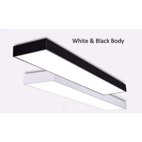 Planet Gates White / 60cm / warm white Modern brief alluminum LED ceiling light fixture black/white office planet ceiling lamp Commercial lighting