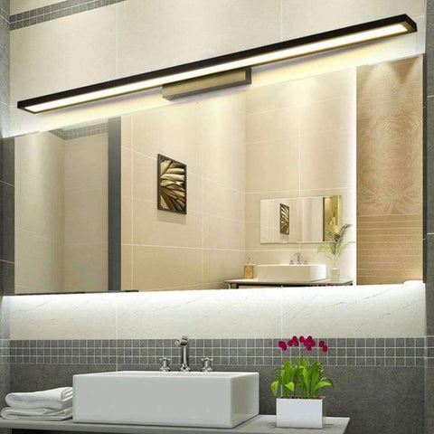 Planet Gates White 6W 25CM / Cold White Modern LED Mirror Light8W 40CM 12W 55CM Wall Lamp Mounted Indoor Lighting Fixture  Waterproof 220V Stainless Steel Bathroom