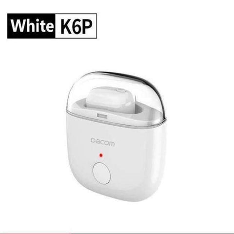 Planet Gates White Dacom K6P TWS earbuds earpiece micro headset mini wireless bluetooth earphones for iphone Samsung smart consumer electronics