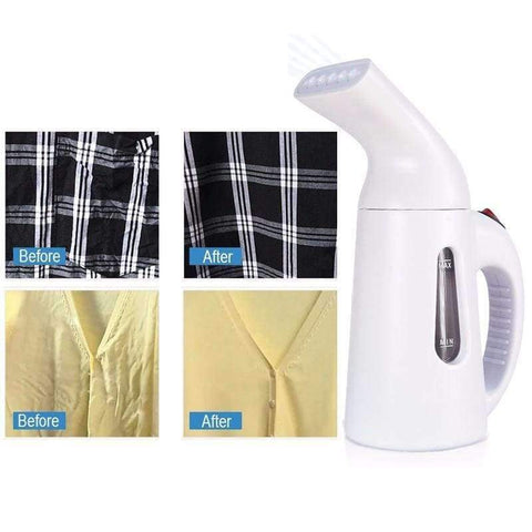 Planet Gates White / Russian Federation / US Portable Clothes Steamer Handheld Iron for Home Vertical Garment Steamers Steam Machine Ironing for Home Appliances 110V 220V