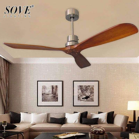 Image of Planet Gates White / With light / size 42 inch Sove Wooden Ceiling Fans Without Light Bedroom 220v Ceiling Fan Wood Ceiling Fans With Lights Remote Control Ventilador De Teto