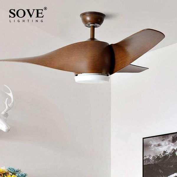 Home Garden Ceiling Fans Black Vintage Ceiling Fan With Lights Remote Control Ceiling Light Fan E27 Bulbs Stbalia Ac Id