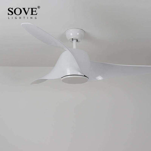 Image of Planet Gates White / Without light / 110-240V SOVE Brown Vintage Ceiling Fan With Lights Remote Control Ventilador De Techo 220 Volt Bedroom Ceiling Light Fan Lamp LED Bulbs