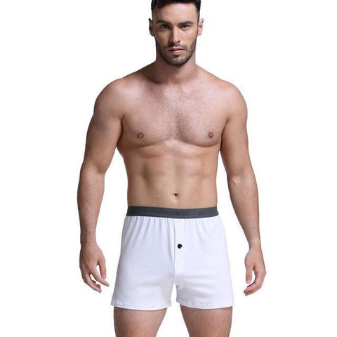Planet Gates White / XXL / China Fashion Men Arrow Pants Lounge Pants Male Panties Pajama Home  Loose Wear Sexy Lingerie