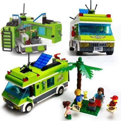 Image of Planet Gates Without original Box 1 City Girls Princess Outing Bus Car Building Blocks Sets Bricks Model Kids Classic Toys Compatible Legoings Friends