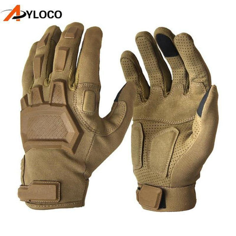 Planet Gates Wof Brown / M Touch gloves Airsoft Paintball Military gloves Men Army Special Forces  Bicycle Full Finger Gym Gloves