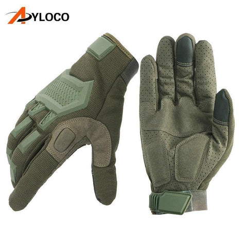 Image of Planet Gates Wof Brown / M Touch gloves Airsoft Paintball Military gloves Men Army Special Forces  Bicycle Full Finger Gym Gloves