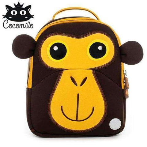 Planet Gates XDKZ007 Cocomilo Cute Animal Pattern School Bags Baby Kids Small Bag For Girls Boys Cartoon Children Anti-lost Bag Kindergarten Backpack