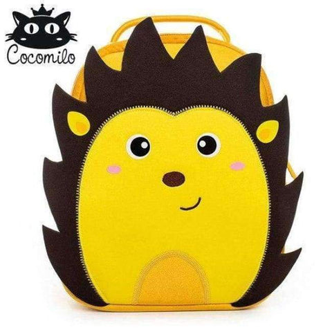 Planet Gates XDKZ008 Cocomilo Cute Animal Pattern School Bags Baby Kids Small Bag For Girls Boys Cartoon Children Anti-lost Bag Kindergarten Backpack