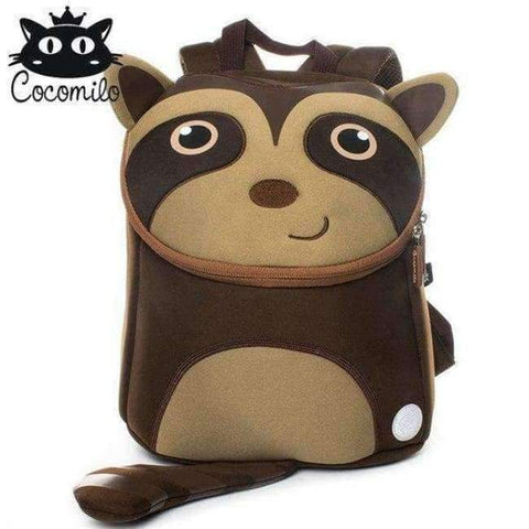 Planet Gates XDKZ009 Cocomilo Cute Animal Pattern School Bags Baby Kids Small Bag For Girls Boys Cartoon Children Anti-lost Bag Kindergarten Backpack