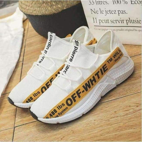 Planet Gates yellow 1 / 6.5 ELGEER 2018 Casual Shoes Men Breathable Autumn Summer Mesh Lovers Shoes Brand Femme Chaussure Ultras Boosts Superstar Sneakers