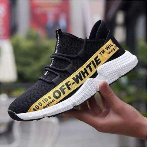 Planet Gates yellow / 6.5 ELGEER 2018 Casual Shoes Men Breathable Autumn Summer Mesh Lovers Shoes Brand Femme Chaussure Ultras Boosts Superstar Sneakers
