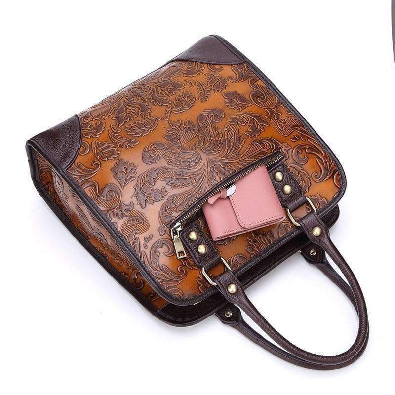 Planet Gates Yellow AEQUEEN New Women Handbags Embossed Process Fashion Briefcase Messenger Bags Genuine Leather Crossbody Bag Ladies Totes Female