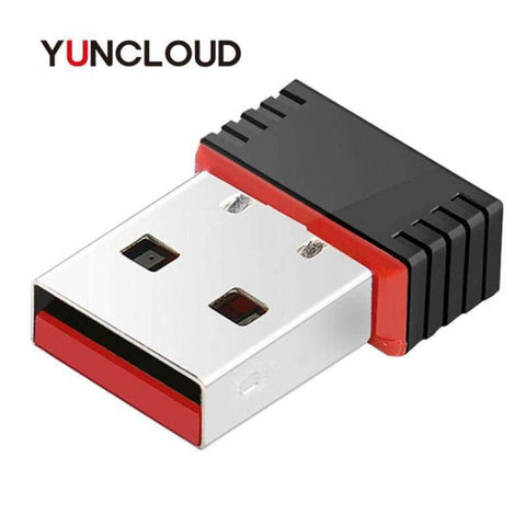 Image of Planet Gates YUNCLOUD Mini WiFi Wireless Adapter High speed USB 2.0 Network Card 150Mbps 802.11 ngb For macbook XP PC Laptop USB WIFI antenna