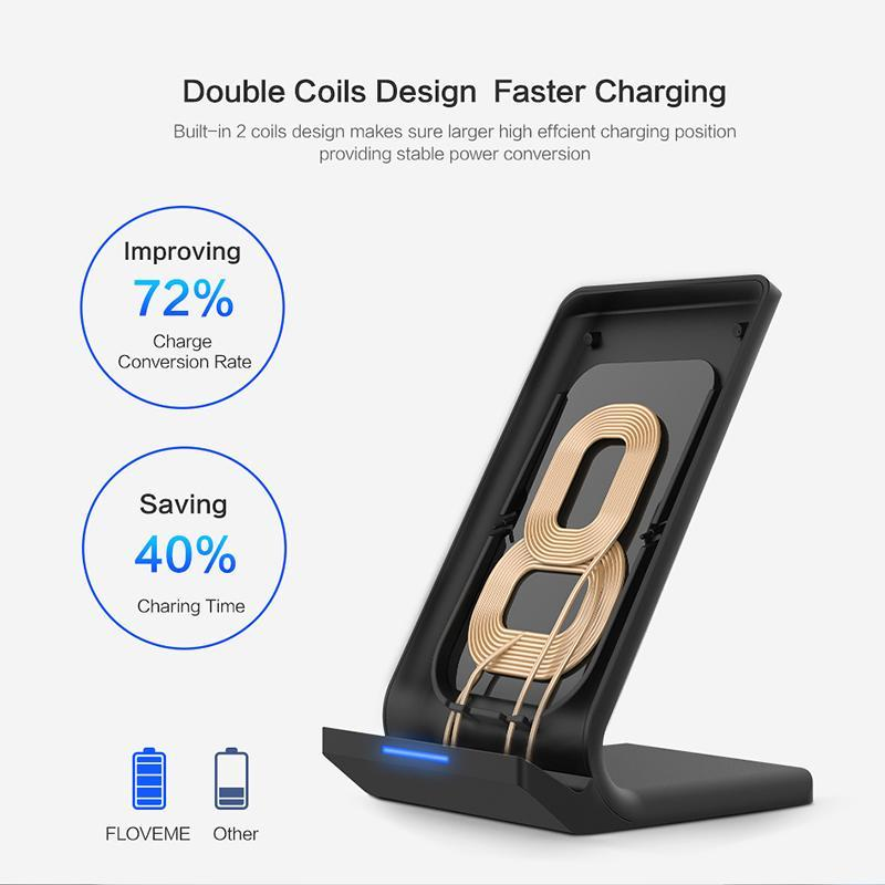 Qi Wireless Charger For iPhone X and iPhone 8 Plus