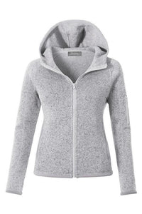 Knit Fleece Zip Up Hoodie Jacket with Pockets - - - Women's Sweaters - Snips and Snails Boutique