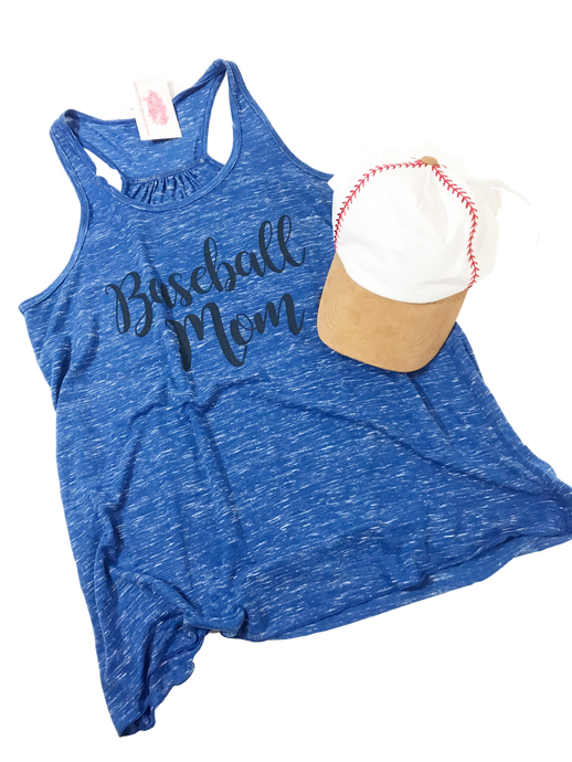 Baseball Mom Racerback Tank