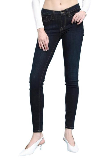 Judy Blue Dark Rayon Skinny Jean - - - Denim - Snips and Snails Boutique