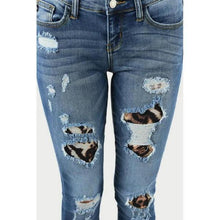 Load image into Gallery viewer, Judy Blue Distressed Denim Skinny Jeans - - - Denim - Snips and Snails Boutique