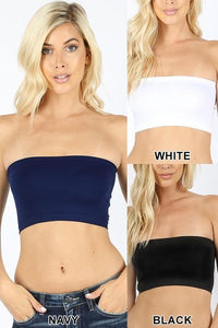 Seamless Solid Bandeau