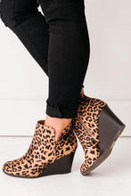 Load image into Gallery viewer, Best Seller Wedge Booties in 3 Colors -Leopard / 5.5 -Leopard - Shoes - Snips and Snails Boutique