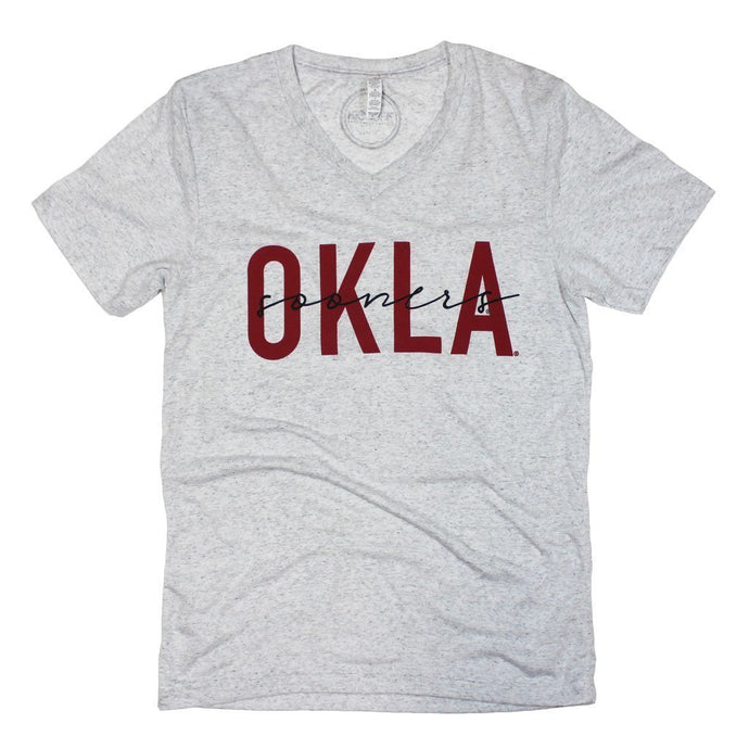 Sooners Iconic V-Neck Tee