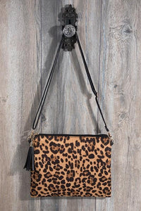 Animal Print Cross Body/Clutch Bag - - - Accessories, Bags - Snips and Snails Boutique