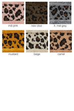 Load image into Gallery viewer, CC Leopard Pattern Headwrap Head Wrap with Lining - - - Accessories, Hats - Snips and Snails Boutique